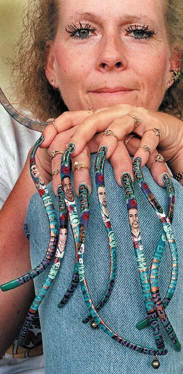 Beautiful nails (14 photo) » long-nail-art